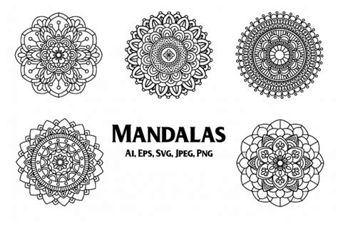 Please share post before you download! FREE Mandala SVG, PNG, EPS… - TopFreeDesigns