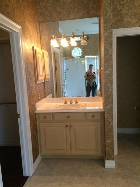 vanity mirror  light placement separate units