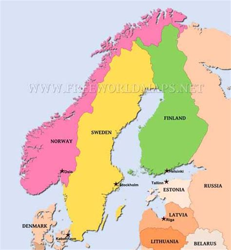Which For The Nordic Countries Image Gallery Scandinavian Countries
