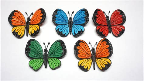 quilling butterfly tutorial diy paper butterfly home