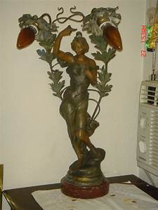 la rosee by julien causse lovely lady lamp for sale With antique lady floor lamp