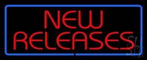 Red, New, Releases, Blue, Border, Led, Neon, Sign