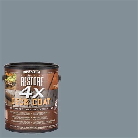 rust oleum restore  gal  granite deck coat