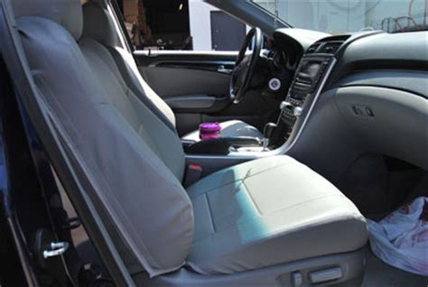 Acura Tsx Seat Covers by Acura Tsx 2009 2013 Leather Like Seat Cover