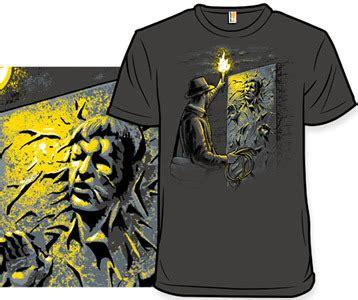 Indiana Jones Han Solo Carbonite T-Shirt - Starcheology Shirt