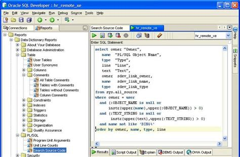 Oracle Sql Developerレポートの活用