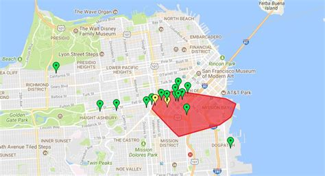 power  san francisco soma mission bay affects thousands