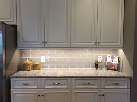 smoke glass subway tile backsplashes kitchen tiles