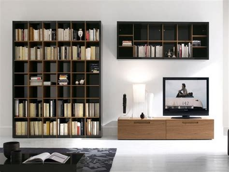 Contemporary Wooden Wall Mounted Bookcase