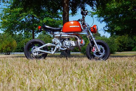 Modification Gazgas Gorilla 110 by Honda Monkey All Years And Modifications With Reviews