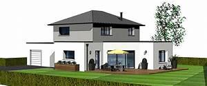 Maison En L Moderne : maisons modernes maisons berci ~ Melissatoandfro.com Idées de Décoration