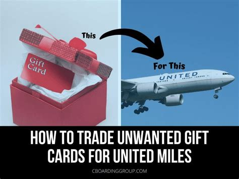 We did not find results for: How to trade unwanted Gift Cards for United Miles