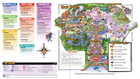 magic kingdom  walt disney world  park map mnsshp