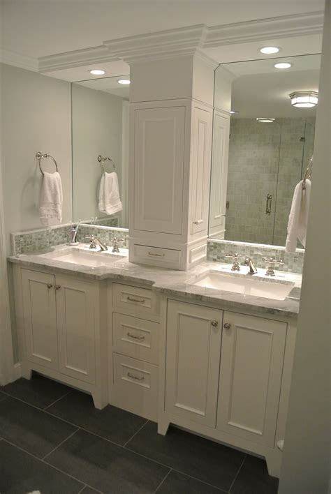 Bathroom Vanity Mirrors With Storage by Not This One But This Arrangement Vanity W