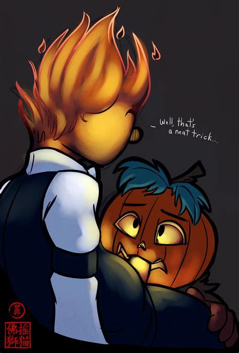 Image Grillby Halloween Undertale Scribblesecrets