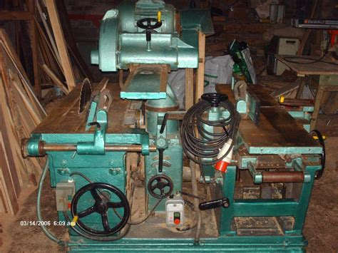 sale dominion combination woodworking machine