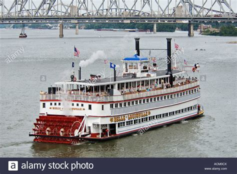Ohio River Boat Cruises by The Steamboat Of Louisville Cruising On The Ohio