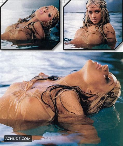 Christina Aguilera Nude By Dominick Guillemot For Maxim