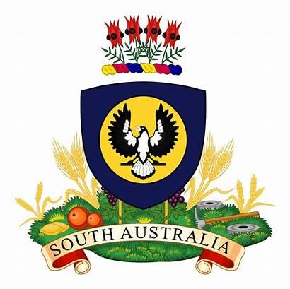 Arms Australia Coat Australian South Svg Clipart