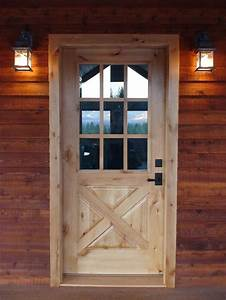 Tips tricks elegant barn style doors for home interior for Barn style front entry door