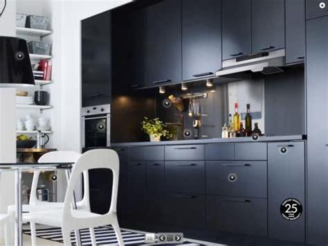 cuisine noir mat cuisine ikea noir mat decoration interiors and kitchens