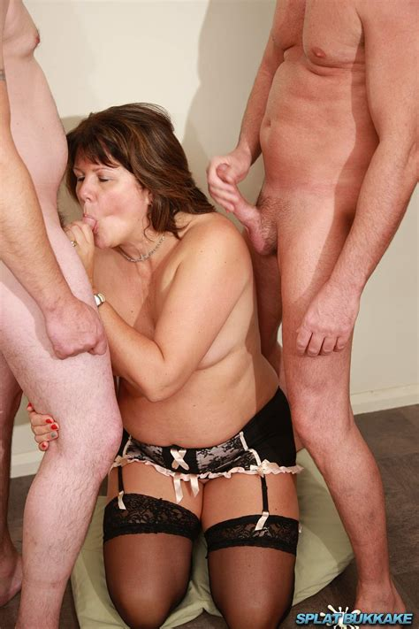 Splatbukkake Sexy Uk Amateur British Milf Sandy Takes