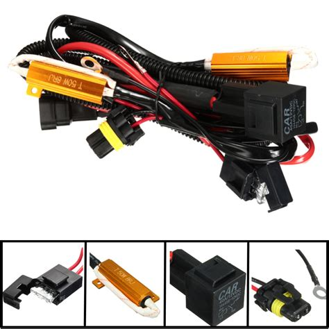 Relay Wiring Harness Load Resistor