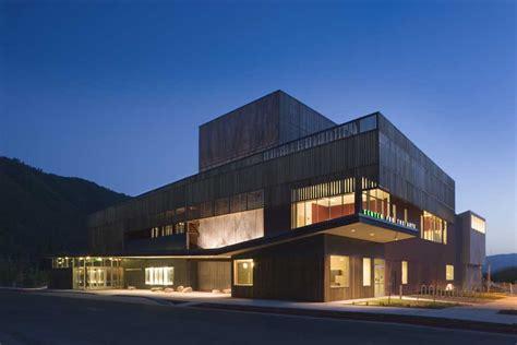 performing arts hall jackson wyoming building  architect