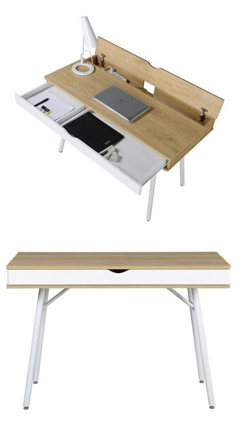 bureau moderne table bureau moderne esprit nordique tiroir rangement