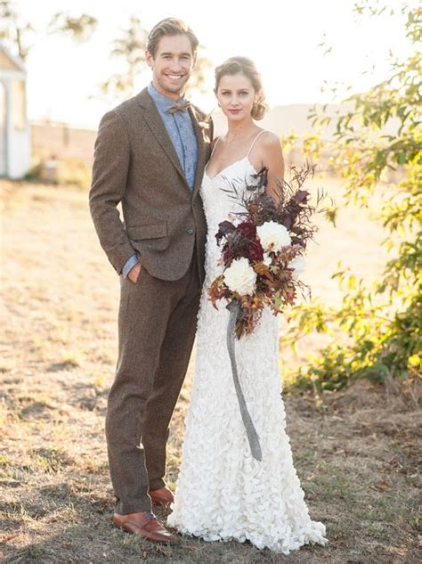 latest coat pant designs brown tweed wedding suits  men
