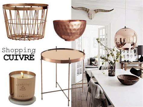 tendance deco cuivre hiver rentree by emy
