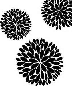 Flower Stencil Template