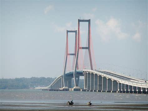 jembatan suramadu jembatan surabaya terpanjang