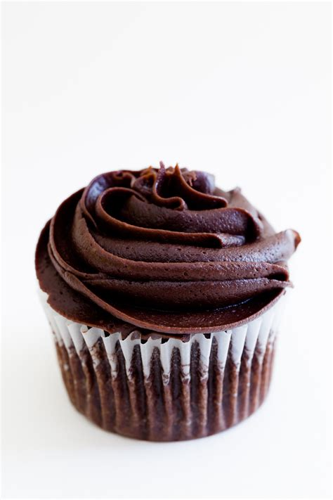 chocolate cupcakes chocolate cupcakes with pink cream cheese frosting recipe dishmaps