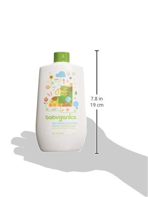 babyganics floor cleaner fragrance free babyganics floor cleaner concentrate fragrance free 16