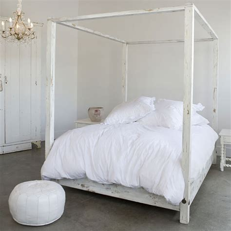stenciled drop cloth house thinking canopy beds