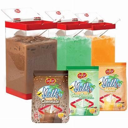 Milk Palamig Flavored Injoy Package Tea Vendo