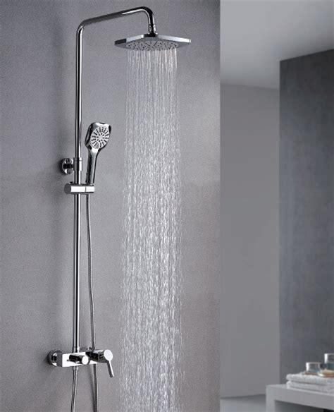 shower jets system rain shower head ceiling mount shower