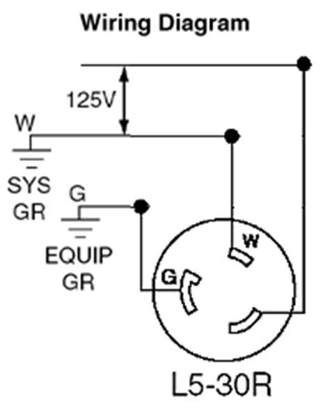 30 Twist Lock Wiring Diagram by Leviton 2611 30 125 Volt Nema L5 30p 2p 3w