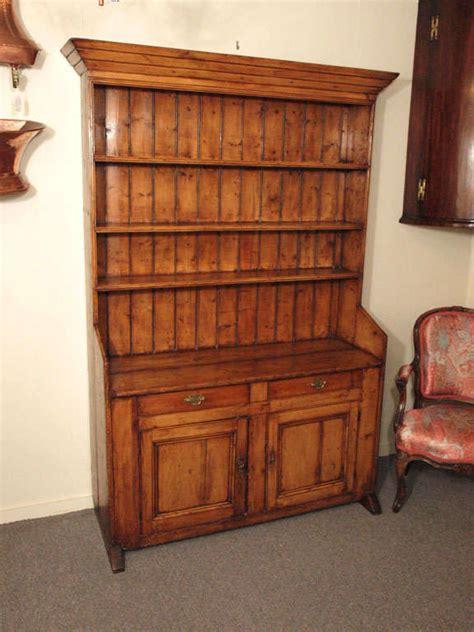 antique irish pine dresser  plate rack  stdibs