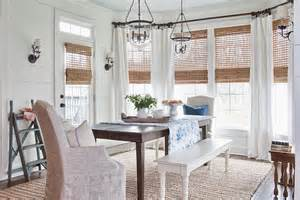 dining room window treatment ideas 30 unassumingly chic farmhouse style dining room ideas