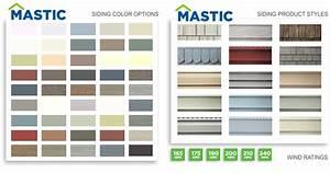 Mastic Vinyl Siding Color Chart Home Design Idea