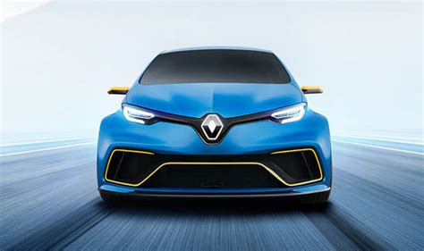 Renault Zoe Esport  The Electric Hatchback Concept With