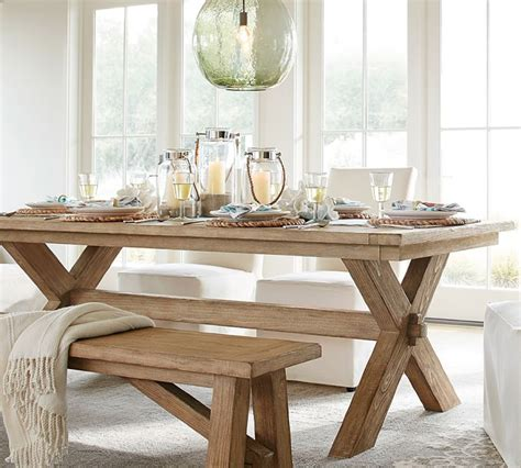 dining room extending table and chairs toscana bench 3