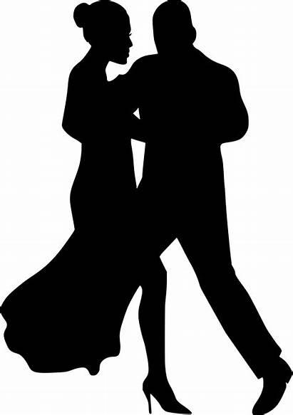 Couple Silhouette Dancing Transparent Clip Clipart Library