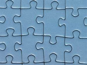 Closeup photo of teal jigsaw puzzle HD wallpaper ...