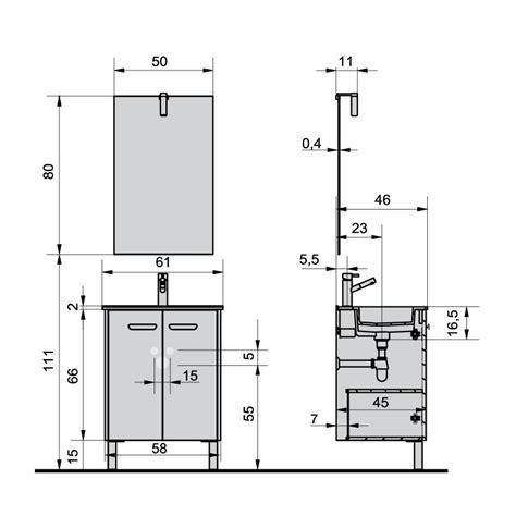 dimensions meubles cuisine profondeur standard plan de travail cuisine comptoir de
