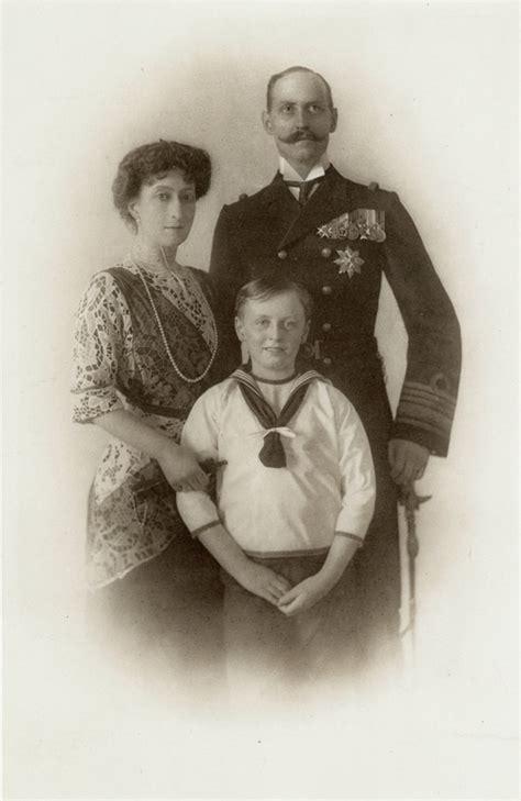 filedronning maud kong haakon og kronprins olav ob