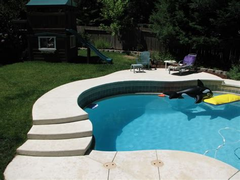 Pool To Go In Sloped Back Yard