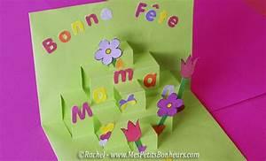 Cadeau Fete Des Grand Mere A Faire Soi Meme : carte pop up pour la f te des m res d coupage collage imprimer ~ Preciouscoupons.com Idées de Décoration
